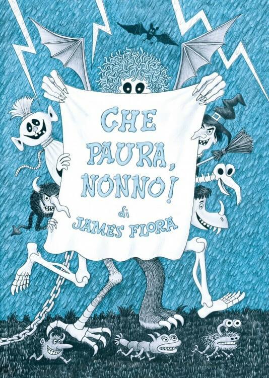 Libro per bambini Che paura, nonno!