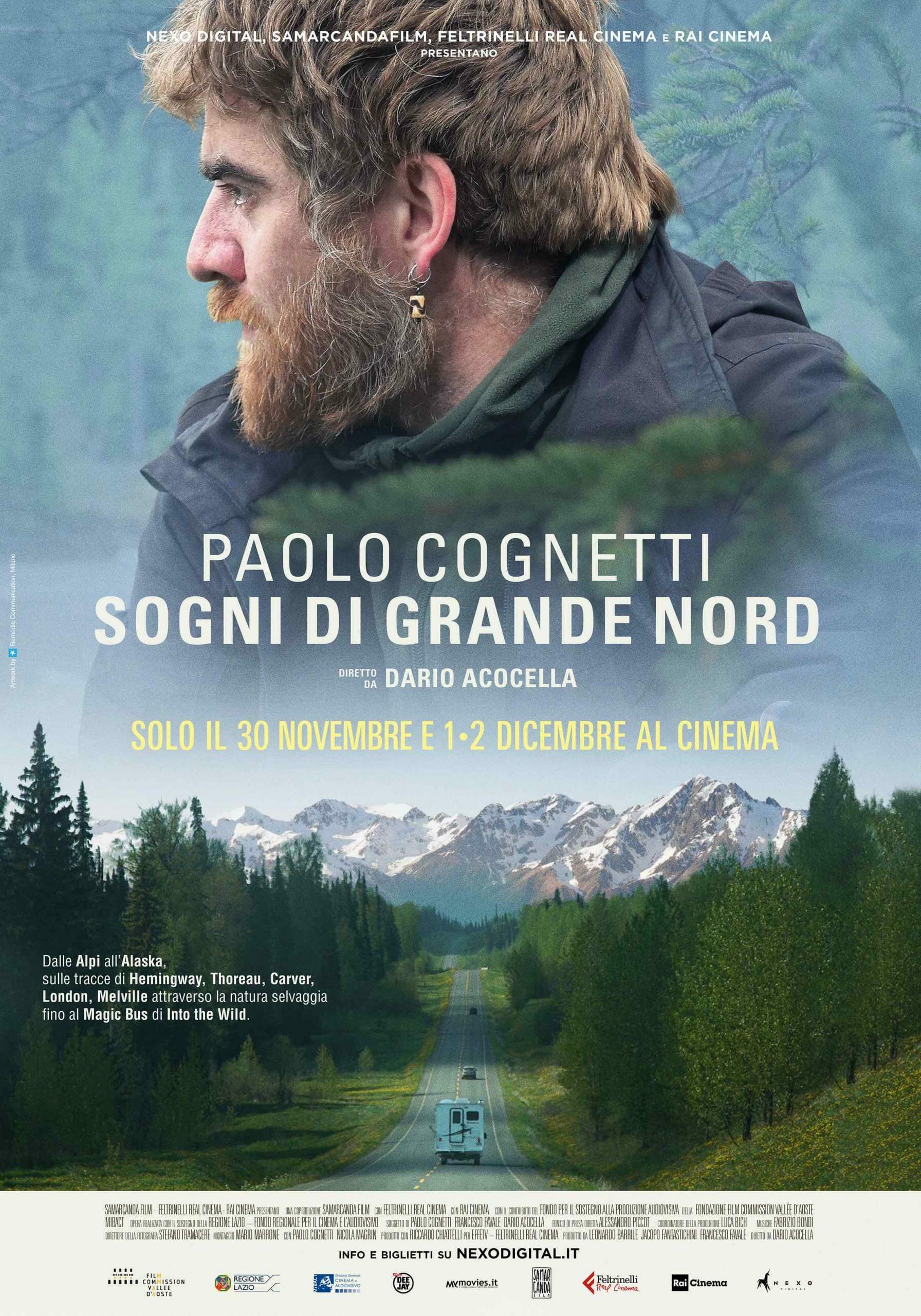 Paolo Cognetti Sogni di grande nord Poster 100x1401