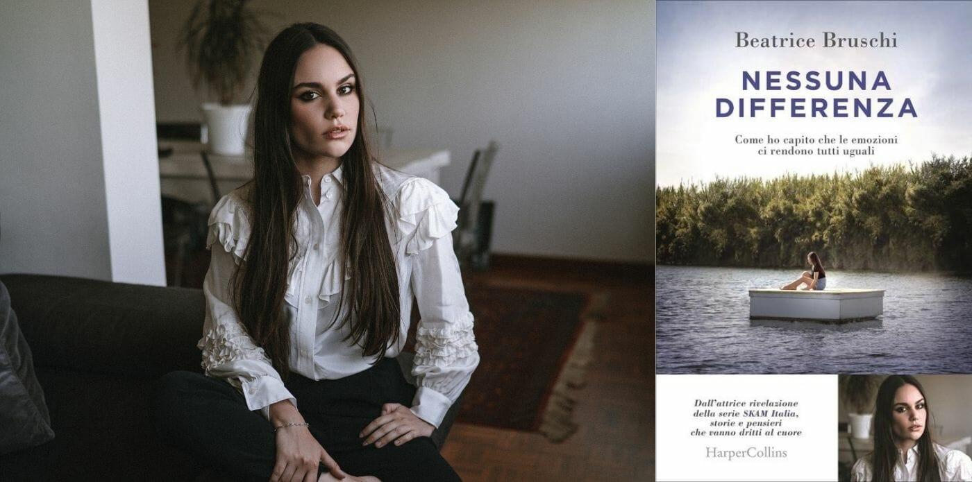 """Da """"Skam"""" alle librerie: Beatrice Bruschi racconta """"Nessuna differenza"""", il suo primo libro"""