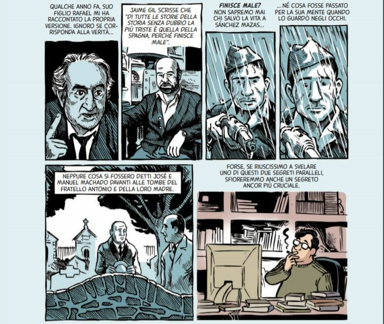 Soldati di Salamina graphic novel