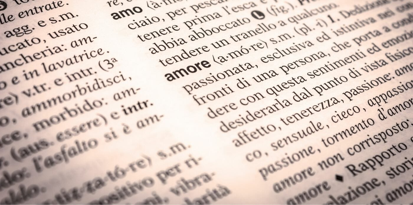 Tra parole, sinonimi e contrari: la storia del vocabolario