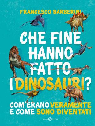 copertina del libro per bambini che fine hanno fatto i dinosauri