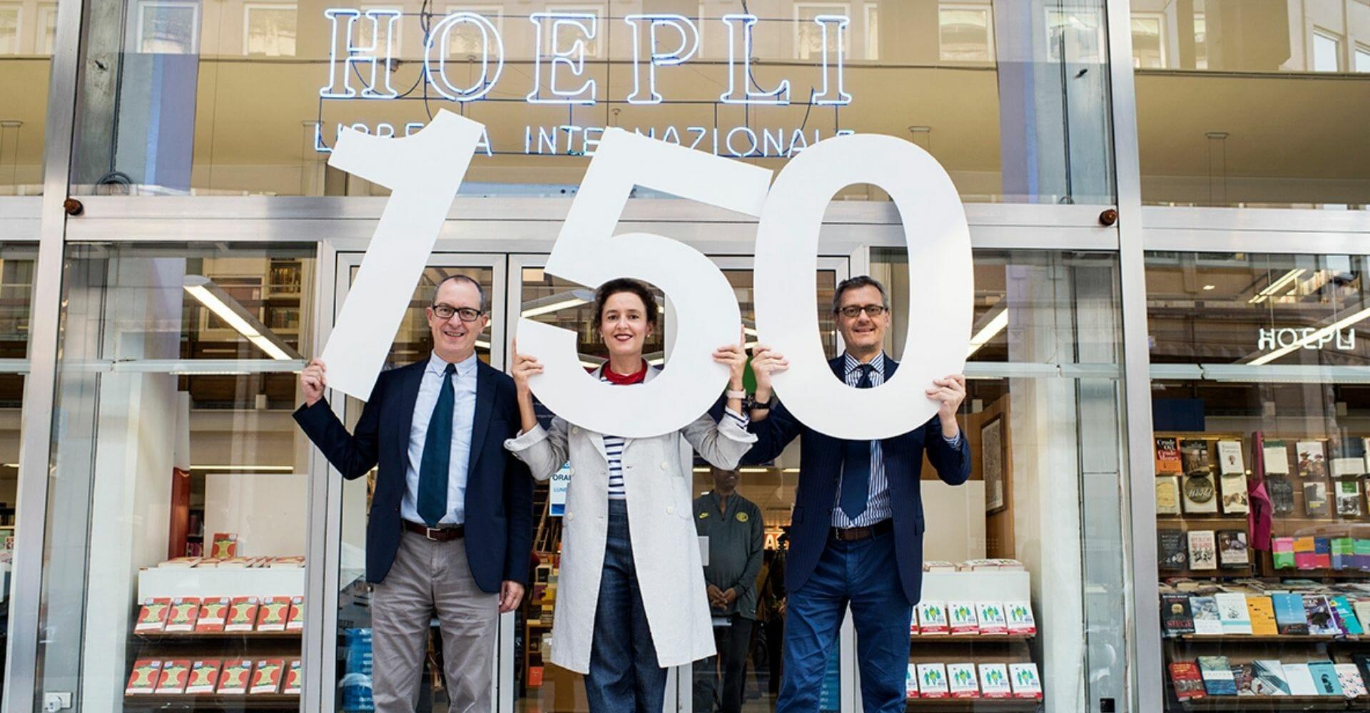 Editoria: le iniziative per i 150 anni di Hoepli