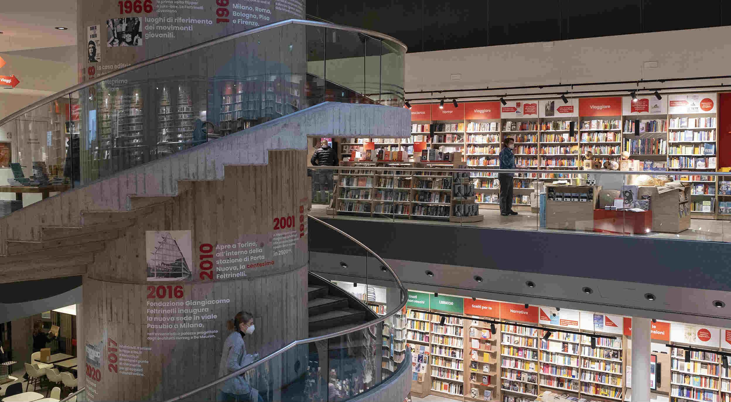 """Feltrinelli con """"Education"""" investe nella formazione (e a Milano rinnova la libreria """"ibrida"""" di piazza Piemonte)"""