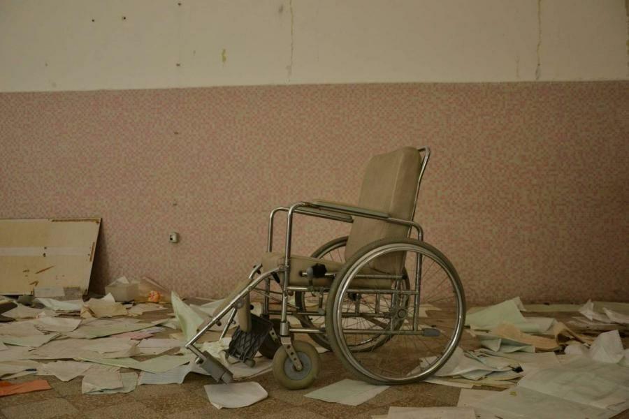 ospedale abbandonato urbex