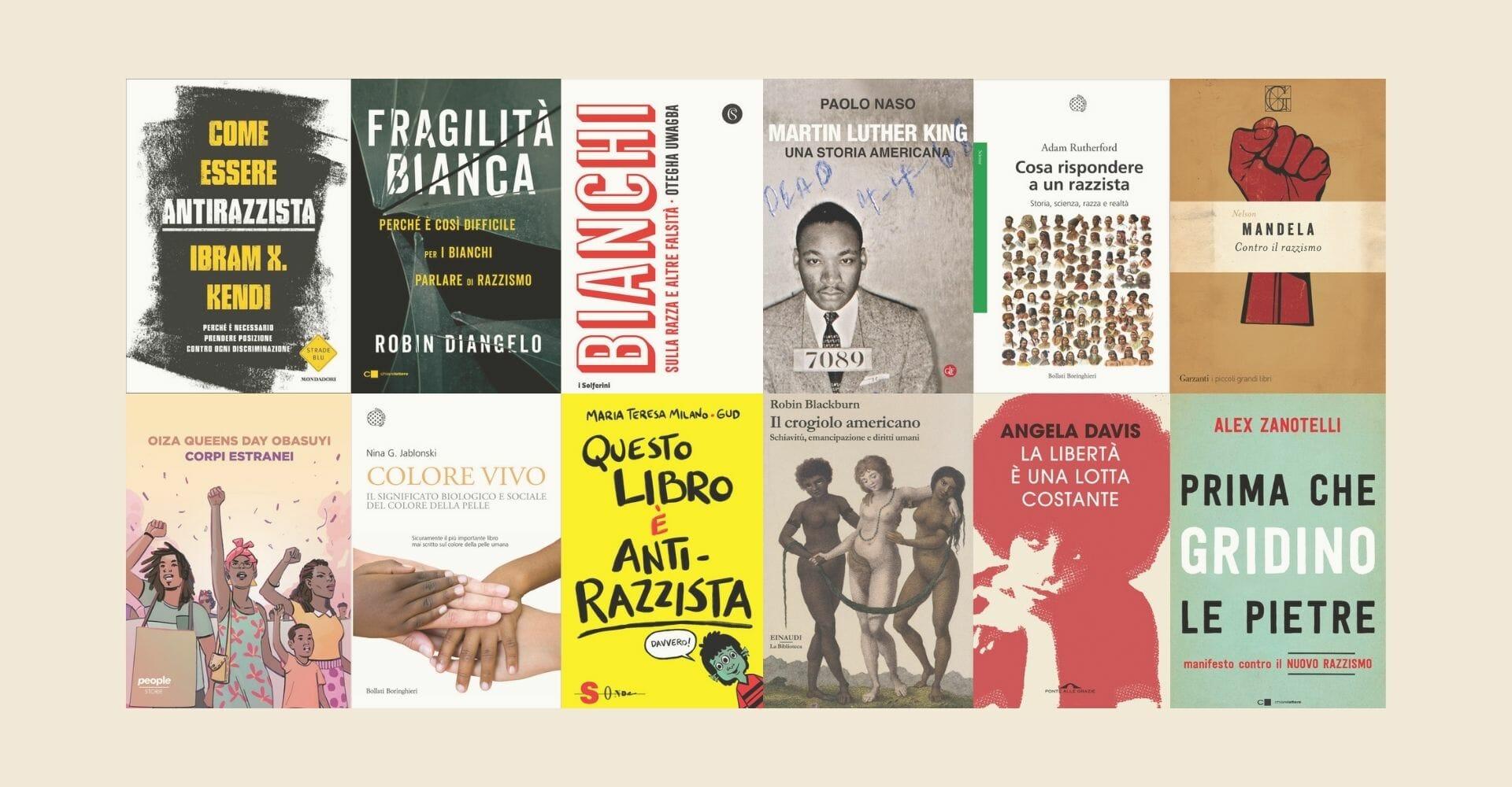 Libri contro il razzismo: tanti saggi di ieri e di oggi