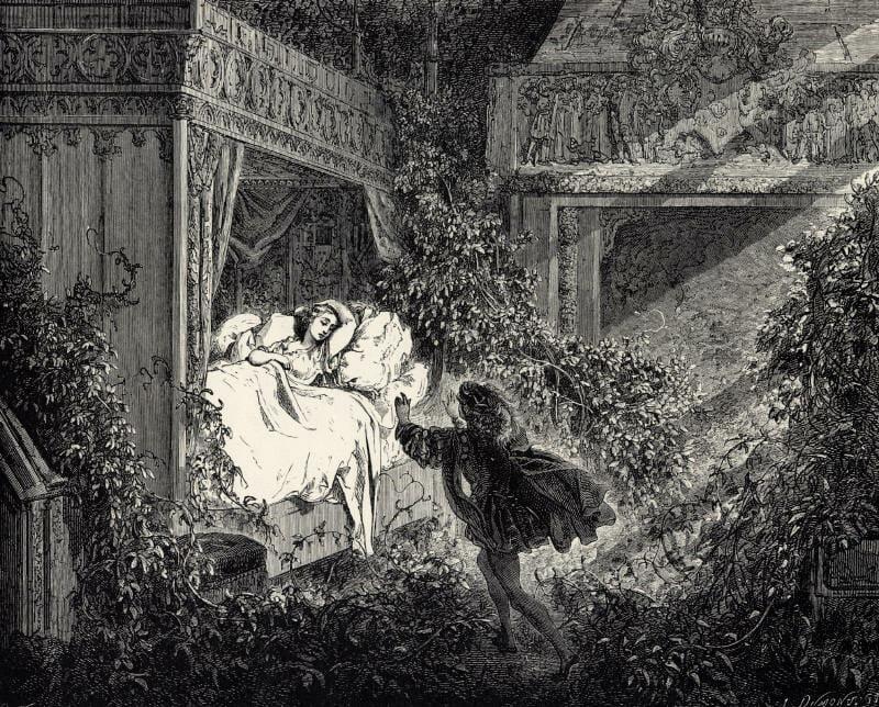 storie per bambini la bella addormentata
