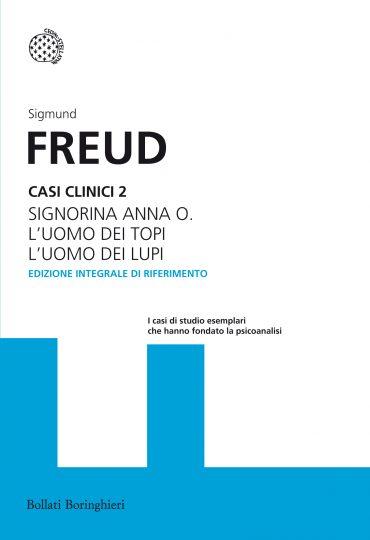 copertina della seconda raccolta di casi clinici di Freud