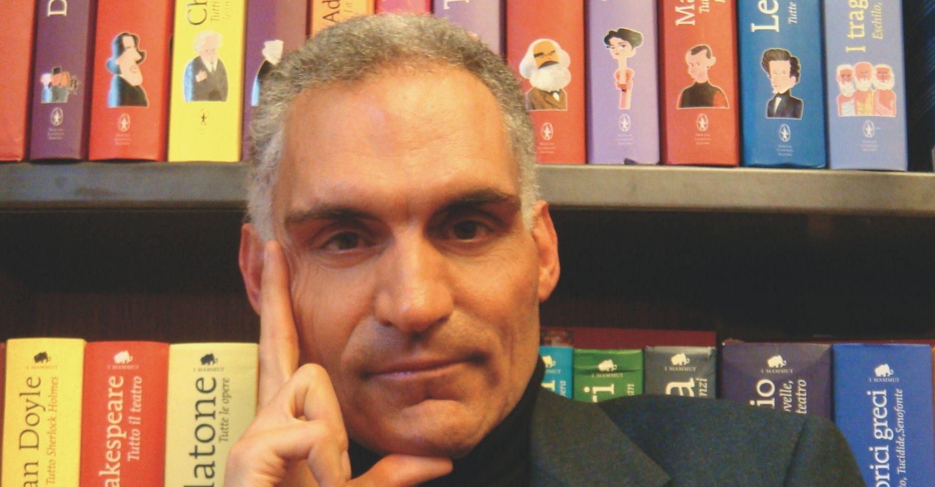 """Andrea Frediani: """"La sfida di scrivere un romanzo storico che catturi come un thriller"""""""