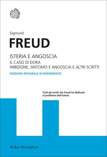 copertina del libro di sigmund freud isteria e angoscia