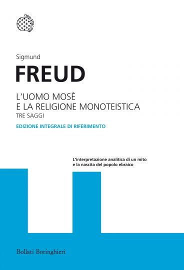 copertina del libro L'uomo Mosé e la religione monoteistica