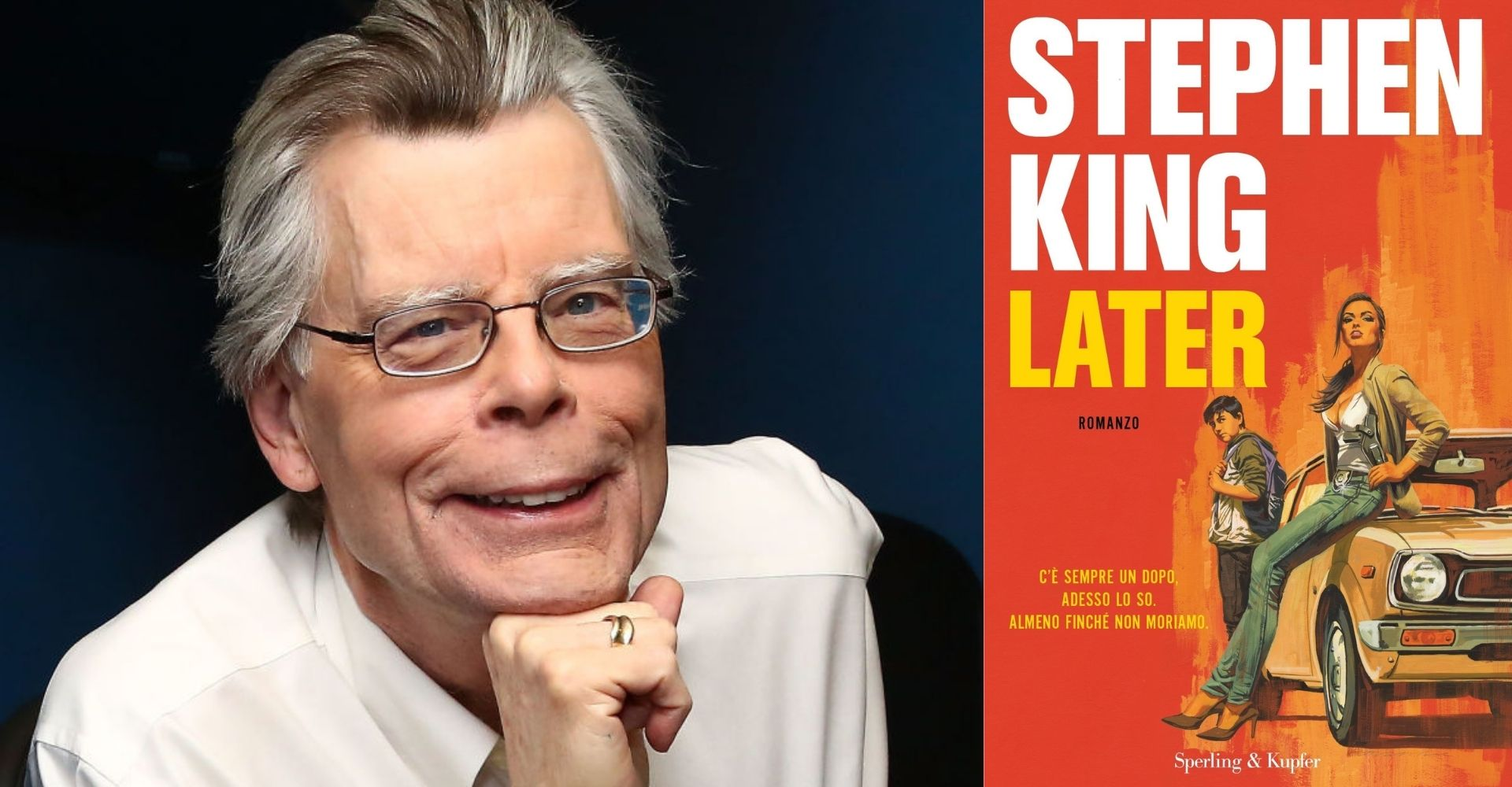 """Later"": il nuovo romanzo di Stephen King in contemporanea mondiale"