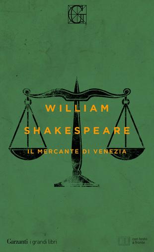 Copertina de Il mercante di Venezia di WiIliam Shakespeare