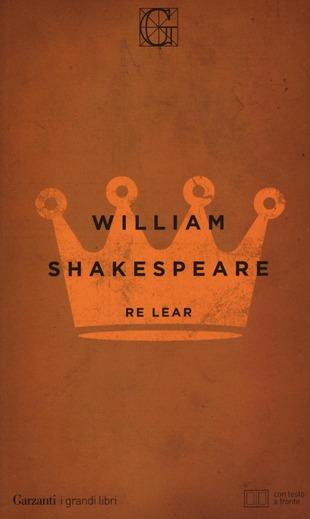 Copertina del Re Lear di William Shakespeare