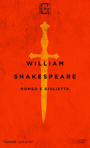 Copertina della tragedia Romeo e Giulietta
