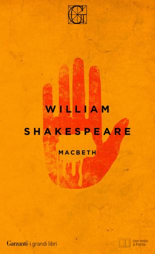 Copertina di Macbeth tragedia di William Shakespeare