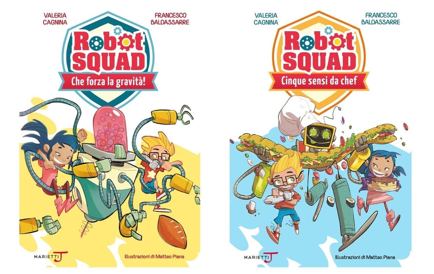 Robot Squad, libri per bambini 2021