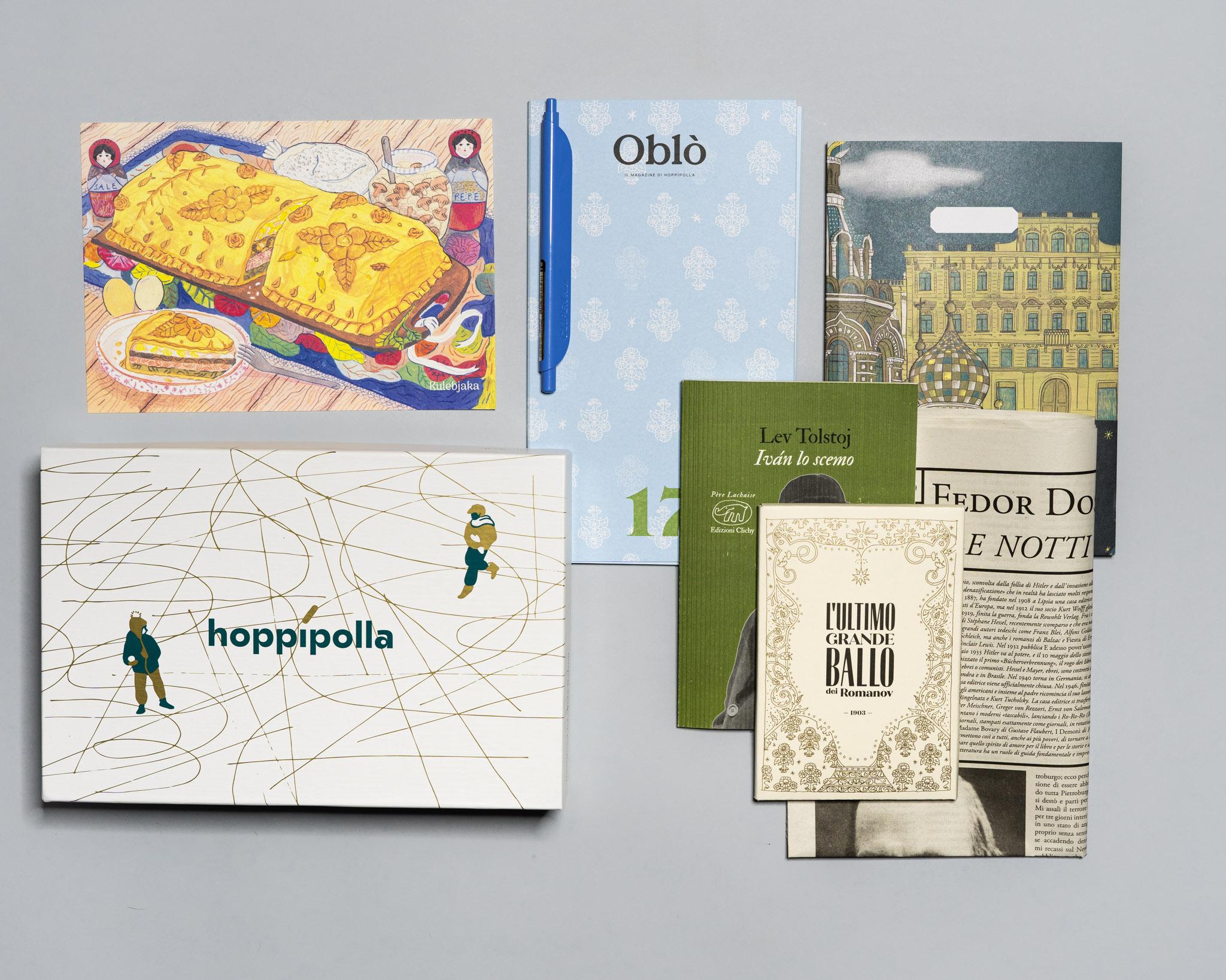 hoppipolla, box letterarie