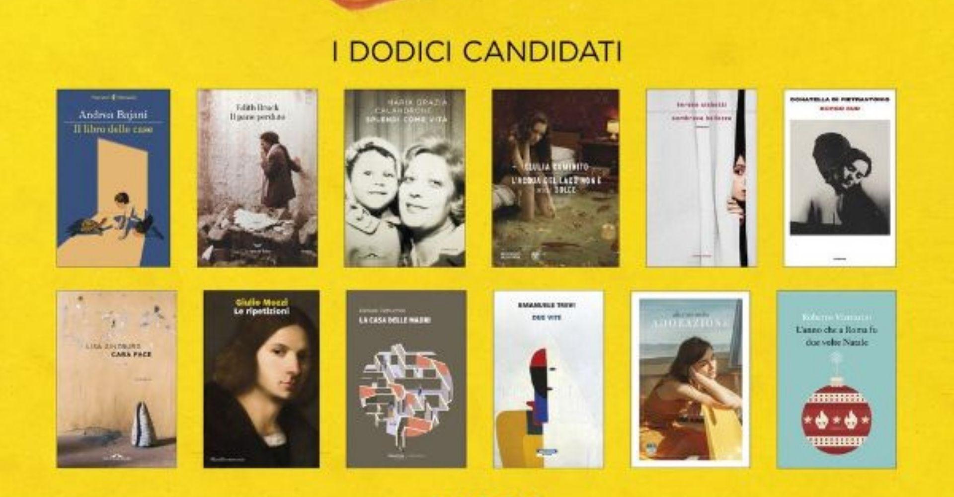 Premio Strega 2021: i 12 libri finalisti (con alcune sorprese)