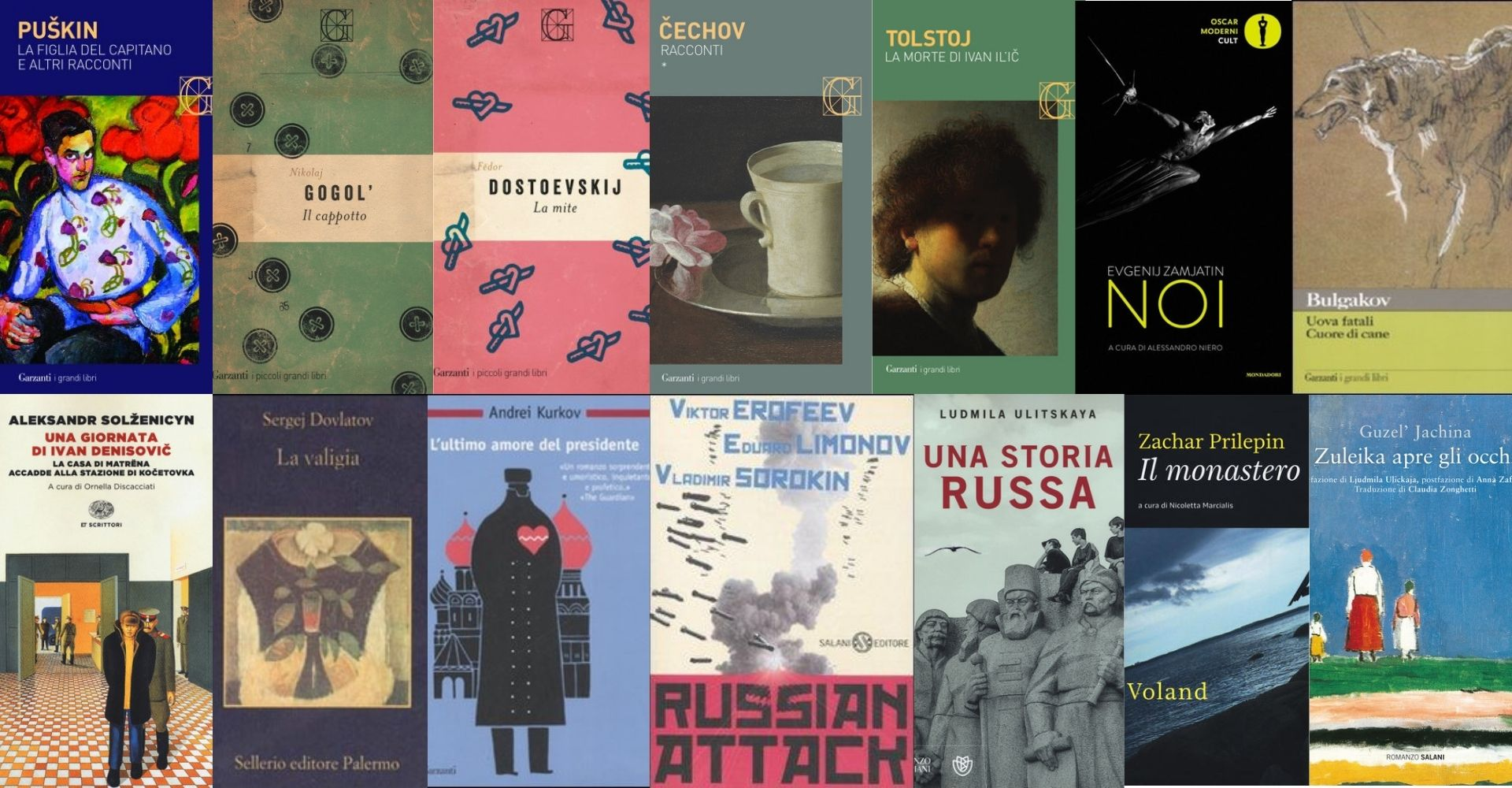 Romanzi russi da leggere: non i soliti libri per cominciare