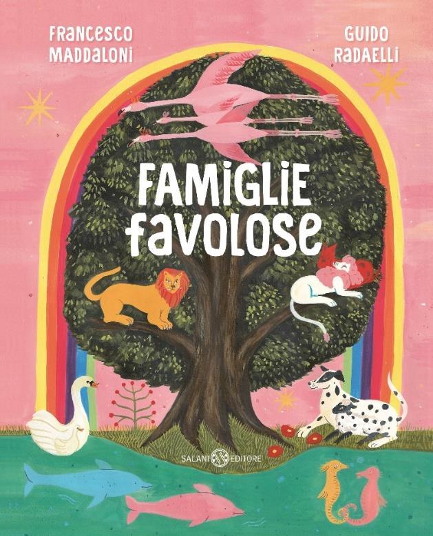 Copertina del libro Famiglie Favolose di Maddaloni e Radaelli