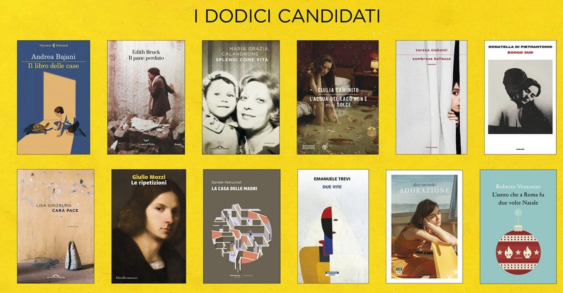 Quanta vita sulle copertine dei 12 libri candidati al Premio Strega 2021