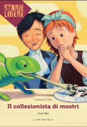 Il collezionista di mostri, libri per bambini 2021