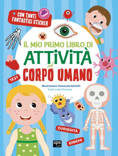 Il mio primo libro di attività sul corpo umano, libri per bambini 2021