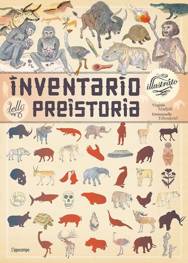 Inventario illustrato della preistoria, libri per ragazzi 2021