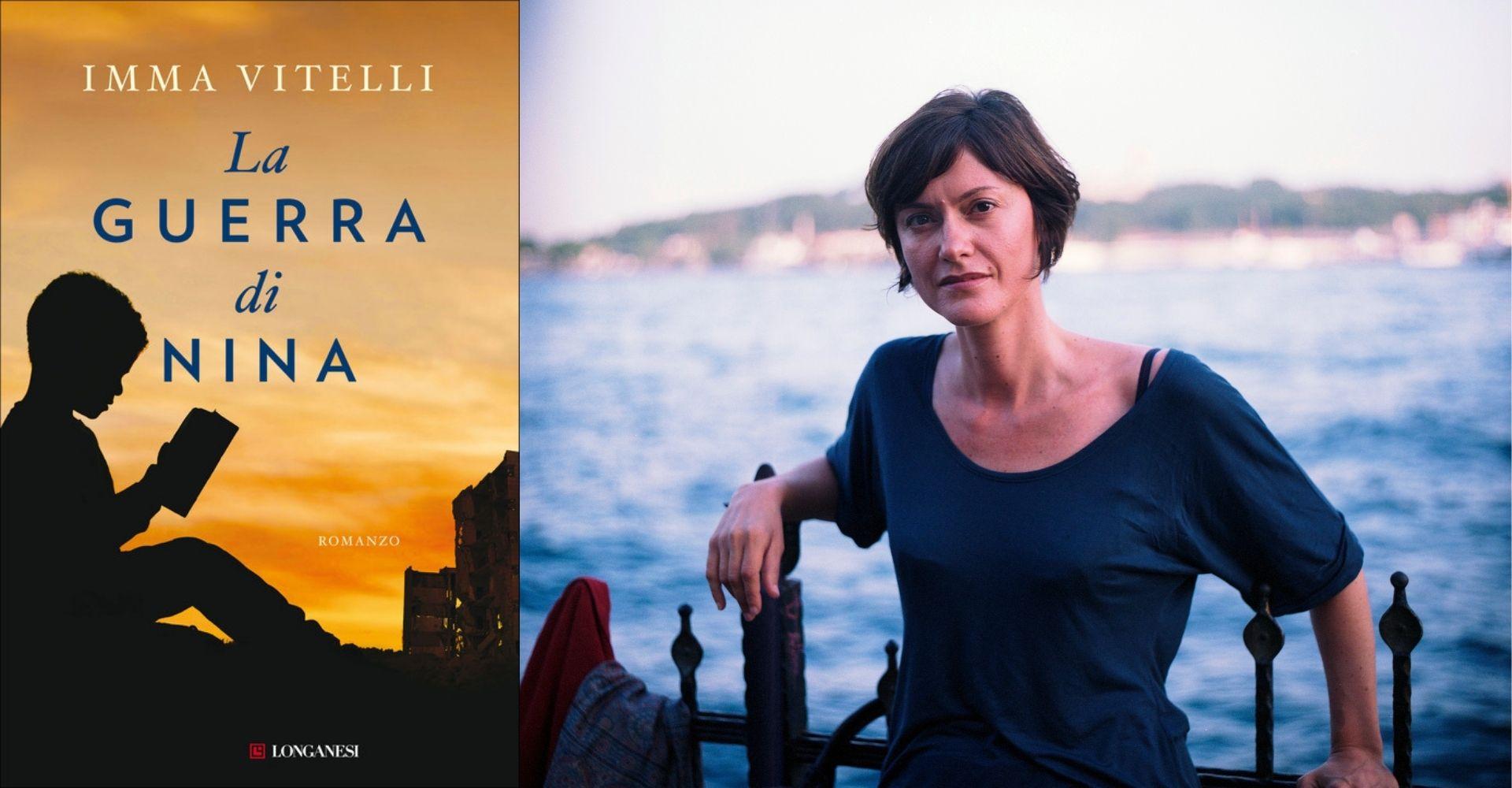 """Imma Vitelli: """"Scrivere 'La guerra di Nina' è stato catartico, mi ero ammalata di guerra"""""""