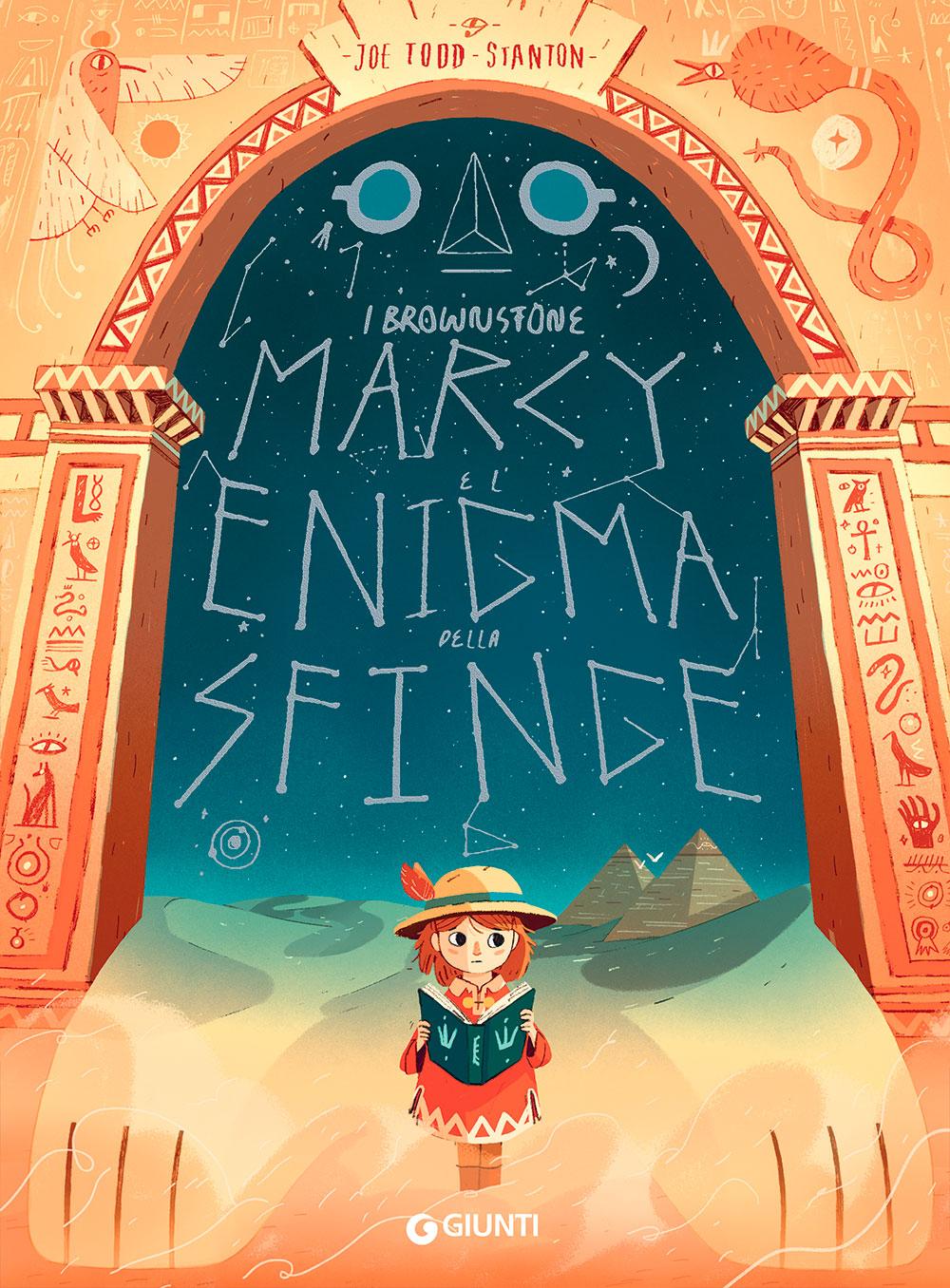 Marcy e l'enigma della sfinge, libri per bambini 2021