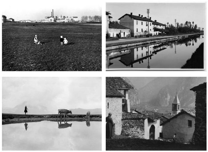 Quattro foto scattate da Antonia Pozzi