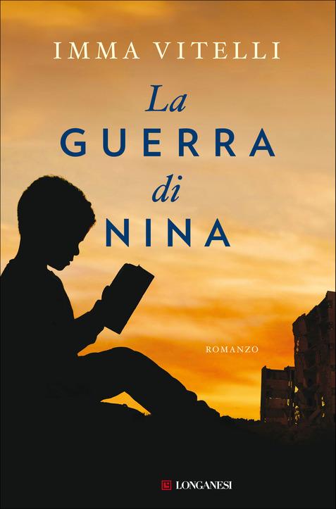 """copertina del romanzo """"la guerra di nina"""""""