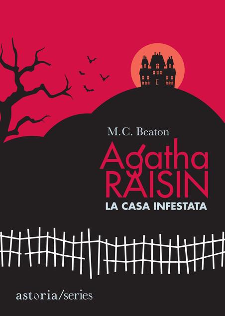 libri thriller 2021 copertina del romanzo agatha raisin la casa infestata di M. C. Beaton