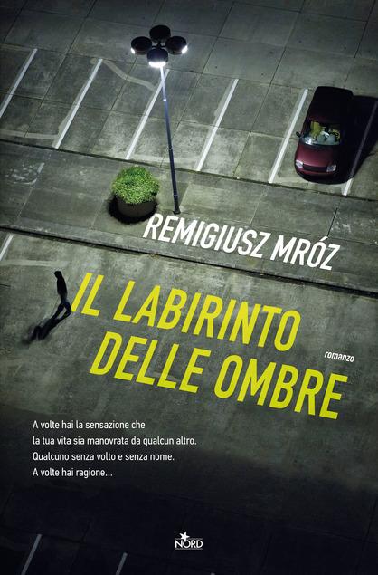 copertina del libro thriller il labirinto delle ombre di remigius mròz