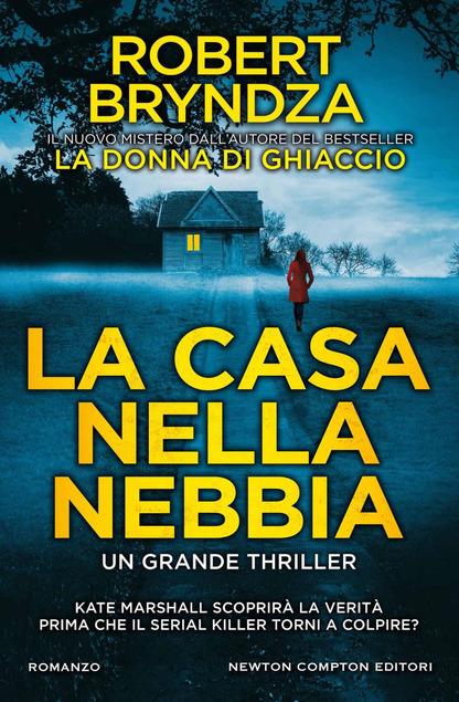 copertina del libro la casa nella nebbia di robert bryndza