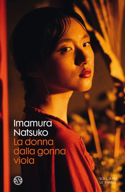 libri thriller 2021 copertina del romanzo la donna dalla gonna viola di imamura natsuko