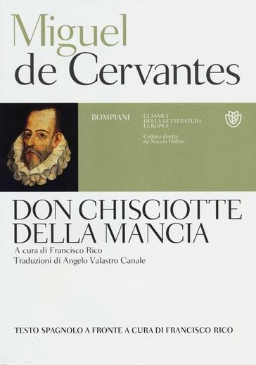 Copertina del libro Don Chisciotte della Mancia