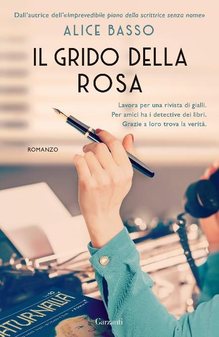 Copertina del libro Il grido della rosa di Alice Basso