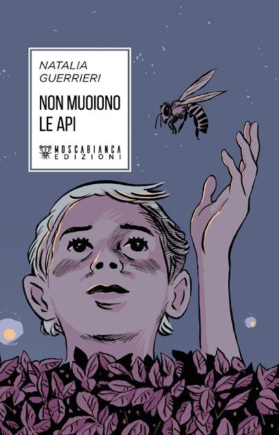 Copertina del libro Non muoiono le api di Natalia Guerrieri