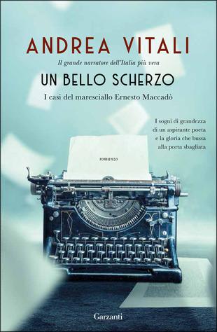 Copertina del libro un bello scherzo di Andrea Vitali