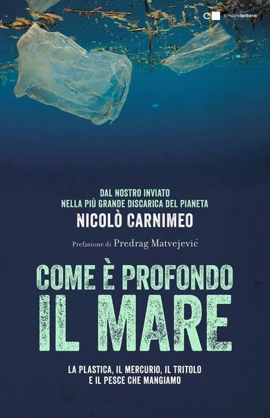 copertina del libro com'è profondo il mare
