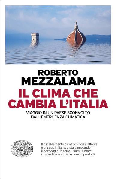 copertina del libro Il clima che cambia l'Italia