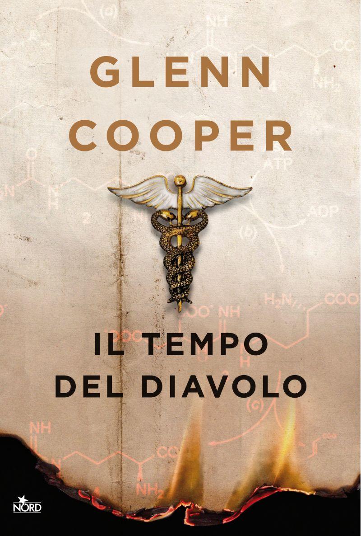 libri thriller copertina del romanzo di Glenn Cooper Il tempo del diavolo