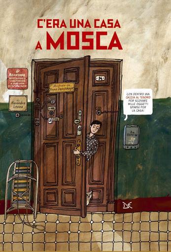 Copertina del libro C'era una casa a Mosca