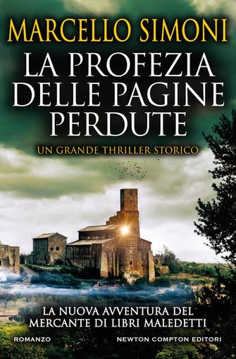 Copertina del libro La profezia delle pagine perdute