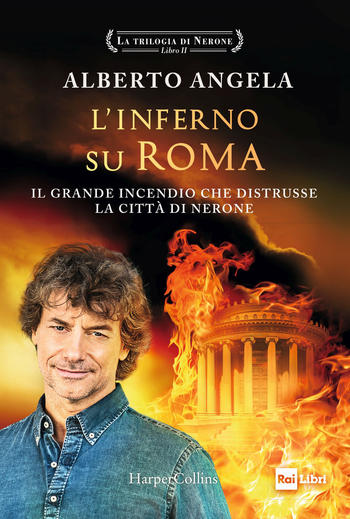 Copertina del libro L'inferno su Roma