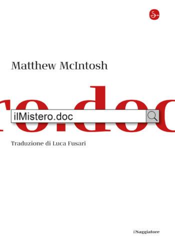 Copertina del libro ilMistero.doc