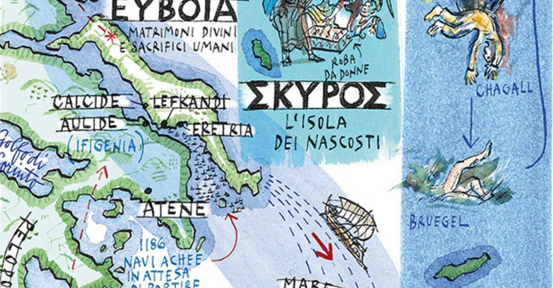 Guida mitologica alle isole della Grecia, alla scoperta del mare degli dèi