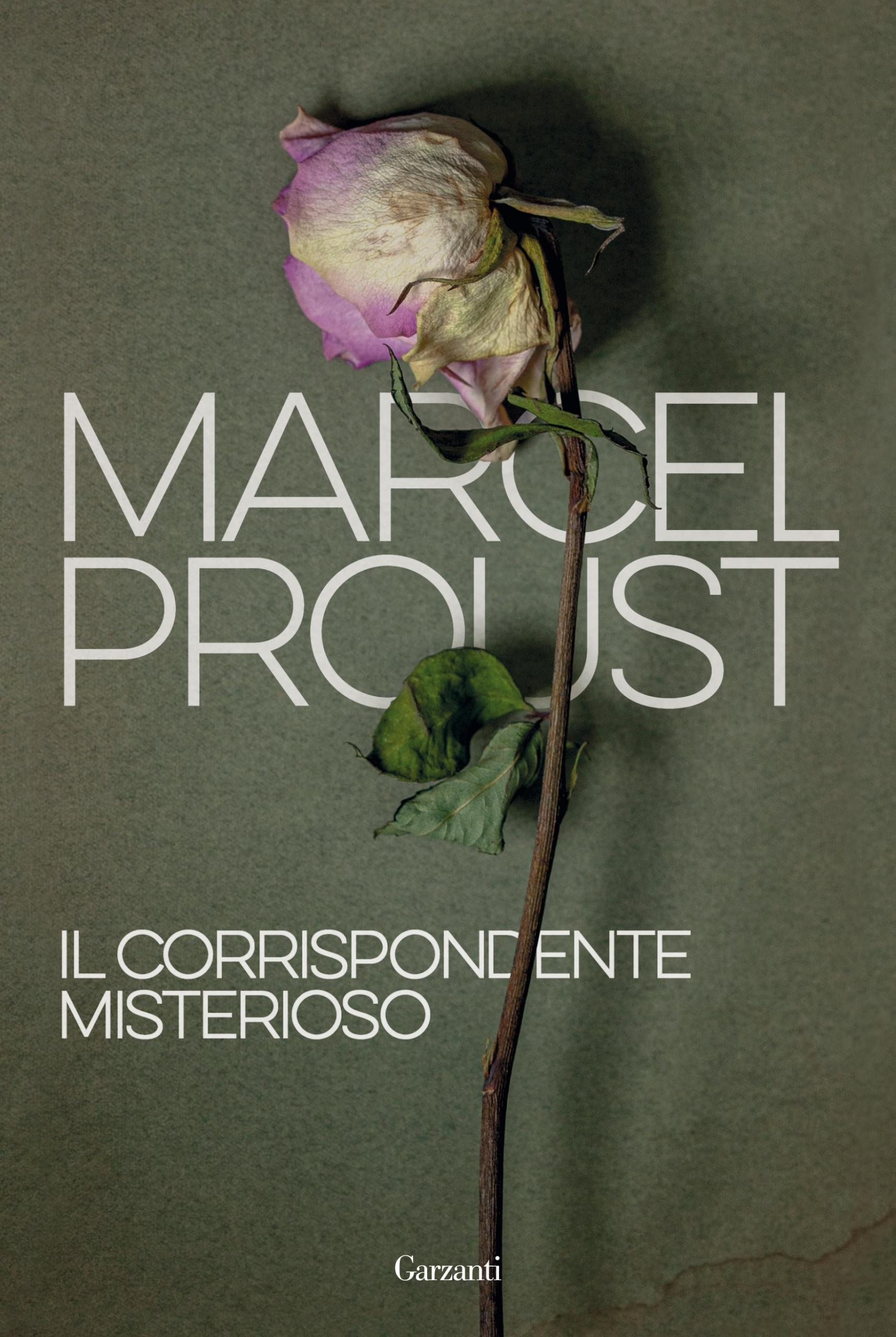 Copertina del libro Il corrispondente misterioso di Marcel Proust